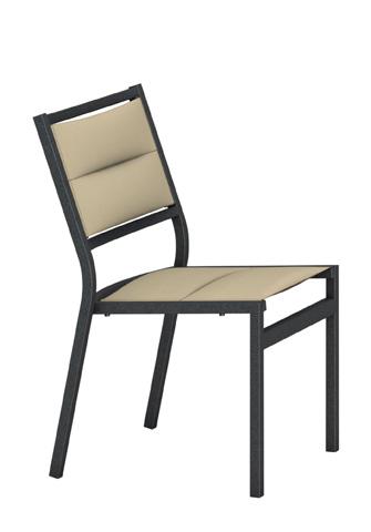 Tropitone Furniture Co., Inc. - Cabana Club Padded Sling Side Chair - 591028PS