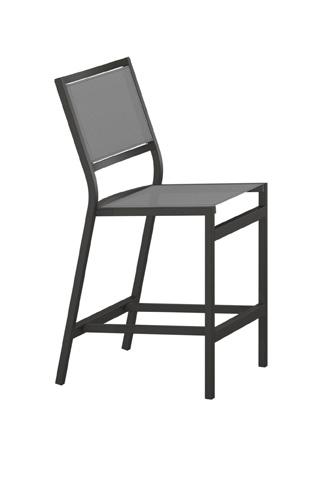 Tropitone Furniture Co., Inc. - Cabana Club Sling Armless Counter Height Stool - 591429-25