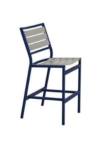 Tropitone Furniture Co., Inc. - Cabana Club Armless Aluminum Slat Barstool - 591429MS-28