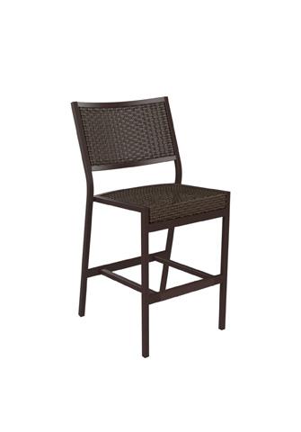 Tropitone Furniture Co., Inc. - Cabana Club Woven Armless Barstool - 591529WS-28