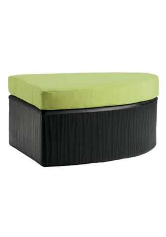 Tropitone Furniture Co., Inc. - Mobilis Curved Ottoman - 610708CO