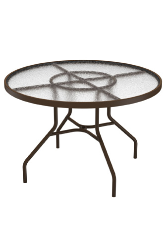 Tropitone Furniture Co., Inc. - Acrylic Round Dining Table - 646NA