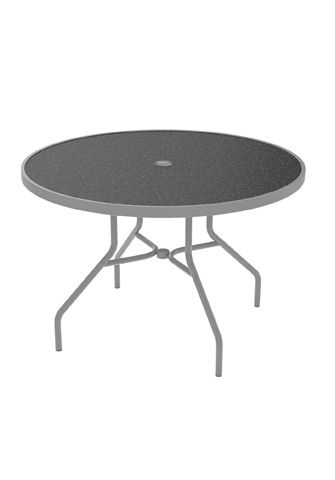 Tropitone Furniture Co., Inc. - Raduno Round Umbrella Dining Table - 646NHU