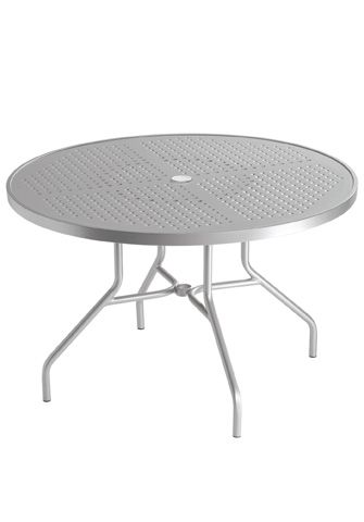 Tropitone Furniture Co., Inc. - Boulevard Round Dining Umbrella Table - 646NSBU