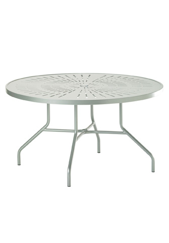 Tropitone Furniture Co., Inc. - La'Stratta Round Dining Umbrella Table - 647NSLU