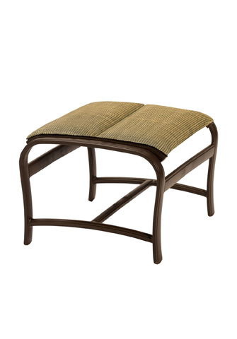Tropitone Furniture Co., Inc. - Ravello Padded Sling Ottoman - 650717PS