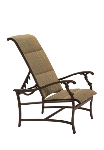 Tropitone Furniture Co., Inc. - Ravello Padded Sling Recliner - 650720PS