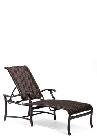 Tropitone Furniture Co., Inc. - Ravello Woven Chaise Lounge - 650732WS
