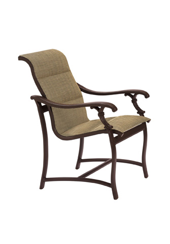 Tropitone Furniture Co., Inc. - Ravello Padded Sling Dining Chair - 650737PS