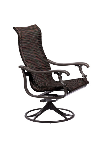 Image of Ravello Woven Swivel Rocker