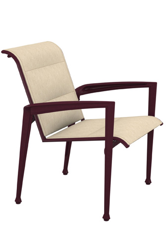 Tropitone Furniture Co., Inc. - Veer Padded Sling Dining Chair - 670824PS