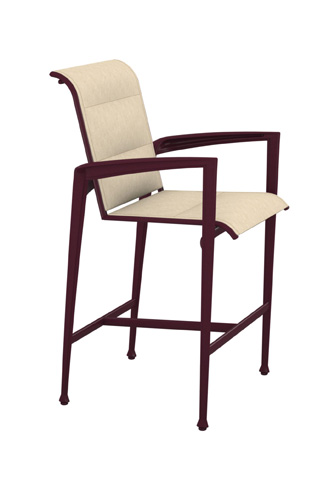 Tropitone Furniture Co., Inc. - Veer Padded Sling Barstool - 670826PS