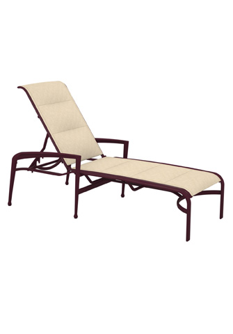 Tropitone Furniture Co., Inc. - Veer Padded Chaise Lounge - 670832PS