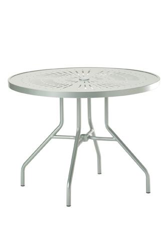 Tropitone Furniture Co., Inc. - La'Stratta Round Dining Umbrella Table - 670SLU