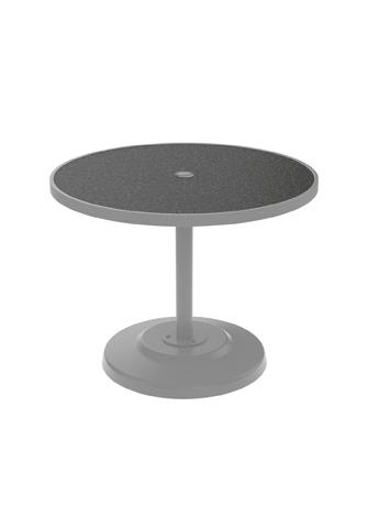 Tropitone Furniture Co., Inc. - Raduno Round Dining Umbrella Table - 701436HU