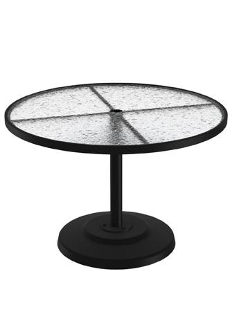 Tropitone Furniture Co., Inc. - Acrylic Round Dining Umbrella Table - 701442AU
