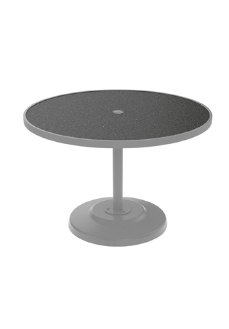 Tropitone Furniture Co., Inc. - Raduno Round Dining Umbrella Table - 701442HU