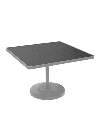 Tropitone Furniture Co., Inc. - Raduno Square Pedestal Dining Table - 701443H