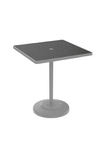 Tropitone Furniture Co., Inc. - Raduno Pedestal Bar Umbrella Table - 701476HU-40