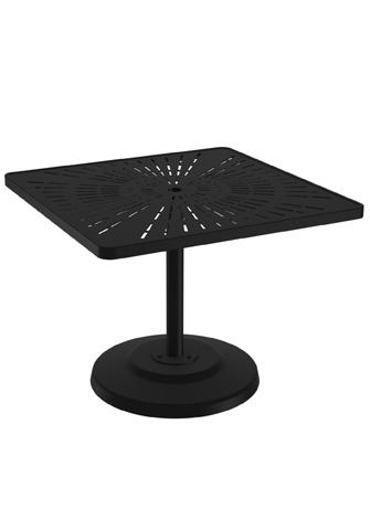 Tropitone Furniture Co., Inc. - La'Stratta Pedestal Dining Umbrella Table - 701476SLU