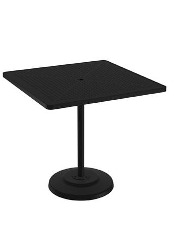 Tropitone Furniture Co., Inc. - Boulevard Pedestal Bar Umbrella Table - 701491SBU
