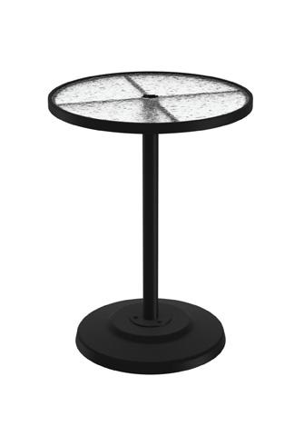 Tropitone Furniture Co., Inc. - Acrylic Pedestal Bar Umbrella Table - 701493AU