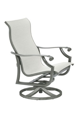 Tropitone Furniture Co., Inc. - Montreux Sling Swivel Action Lounger - 710125NT
