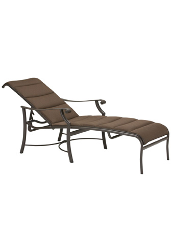 Tropitone Furniture Co., Inc. - Montreux Padded Sling Chaise Lounge - 710132PS