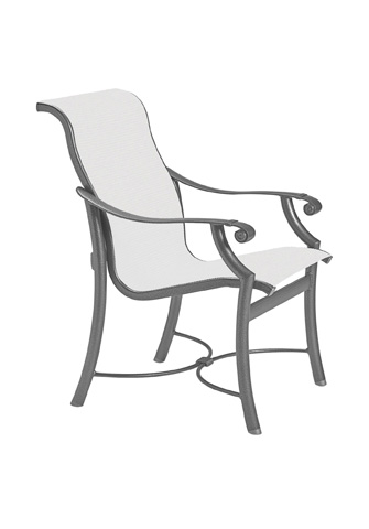 Tropitone Furniture Co., Inc. - Montreux Sling Dining Chair - 710137