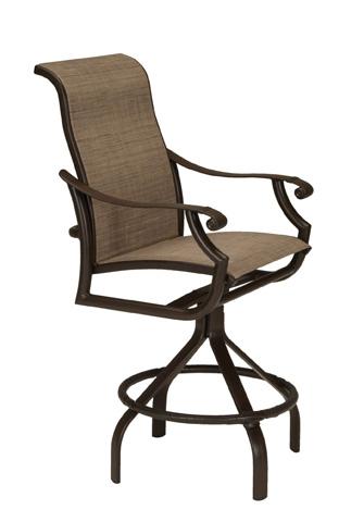 Tropitone Furniture Co., Inc. - Montreux II Sling Swivel Barstool - 711227-28