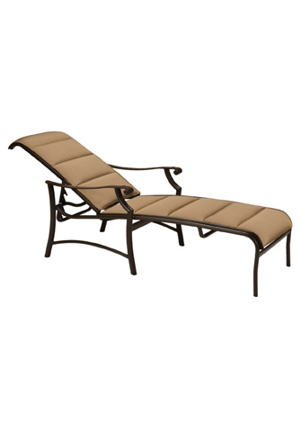 Tropitone Furniture Co., Inc. - Montreux II Padded Sling Chaise Lounge - 711232PS