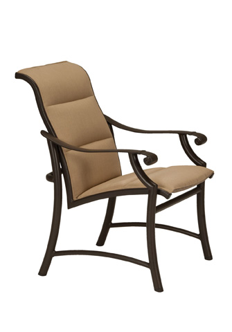 Tropitone Furniture Co., Inc. - Montreux II Padded Low Back Dining Chair - 711237PS