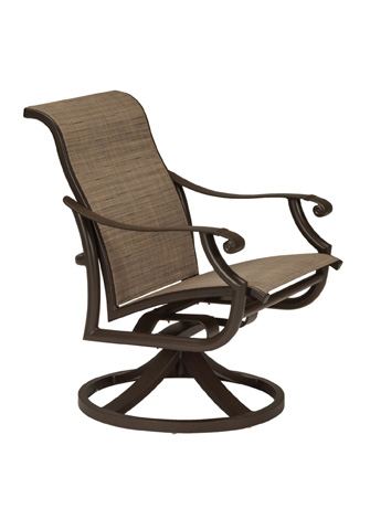 Tropitone Furniture Co., Inc. - Montreux II Low Back Swivel Rocker - 711269