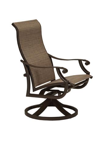 Tropitone Furniture Co., Inc. - Montreux II High Back Swivel Rocker - 711270