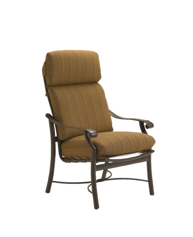 Tropitone Furniture Co., Inc. - Montreux Cushion Dining Chair - 720201