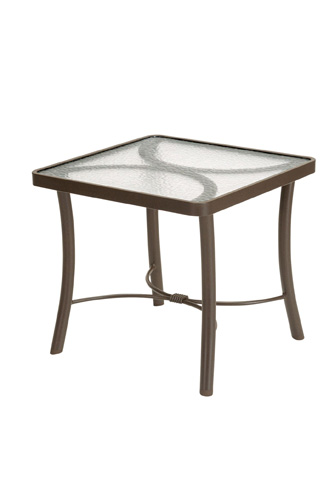 Tropitone Furniture Co., Inc. - Obscure Glass Square End Table - 720238G