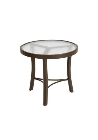 Tropitone Furniture Co., Inc. - Acrylic Round Tea Table - 720282A