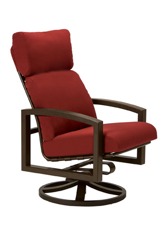 Tropitone Furniture Co., Inc. - Lakeside Cushion Swivel Rocker - 731370