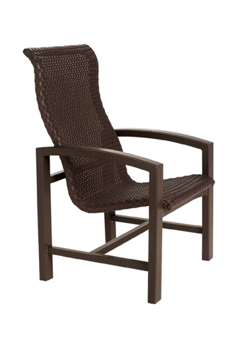 Tropitone Furniture Co., Inc. - Lakeside Woven Dining Chair - 740501WS
