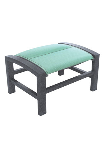 Tropitone Furniture Co., Inc. - Lakeside Padded Sling Ottoman - 740517NPS