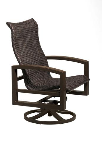 Tropitone Furniture Co., Inc. - Lakeside Woven Swivel Action Lounge Chair - 740525NTWS