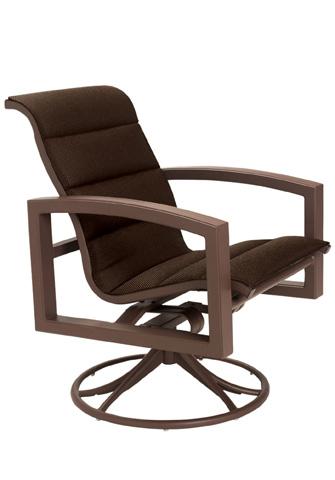 Tropitone Furniture Co., Inc. - Lakeside Padded Sling Swivel Rocker - 740569PS
