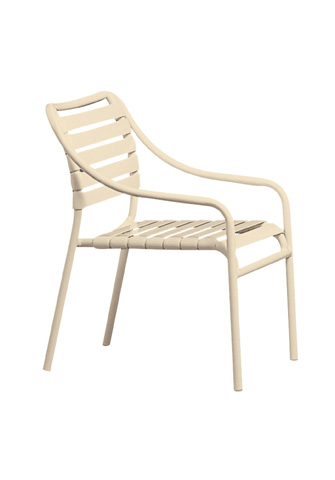 Tropitone Furniture Co., Inc. - Kahana Strap Club Chair - 8007