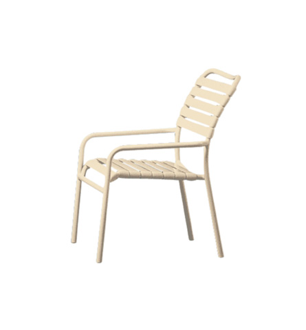 Tropitone Furniture Co., Inc. - Kahana Strap Dining Chair - 8024
