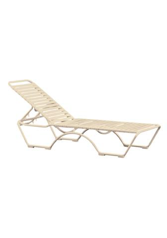 Tropitone Furniture Co., Inc. - Kahana Strap Chaise Lounge - 8032N