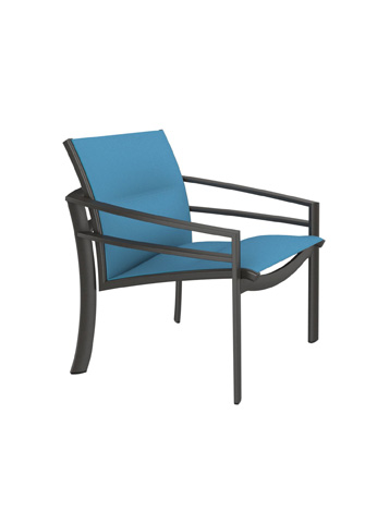 Tropitone Furniture Co., Inc. - KOR Padded Sling Lounge Chair - 891511PS