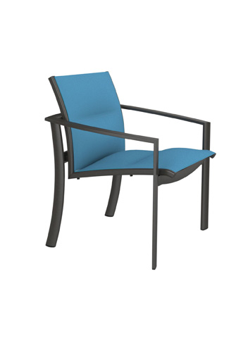 Tropitone Furniture Co., Inc. - KOR Padded Sling Dining Chair - 891524PS
