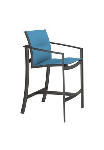Tropitone Furniture Co., Inc. - KOR Padded Sling Barstool - 891526PS