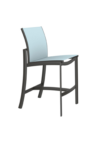 Tropitone Furniture Co., Inc. - KOR Relaxed Sling Armless Barstool - 891529
