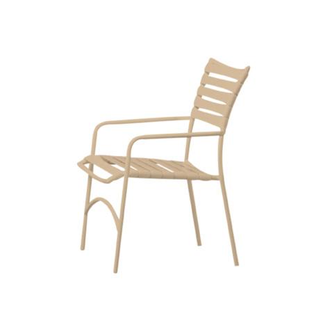Tropitone Furniture Co., Inc. - Tropi-Kai Strap Dining Chair - 924
